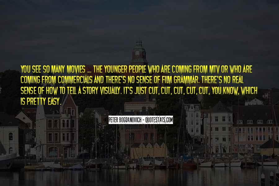 Best Commercials Quotes #106150