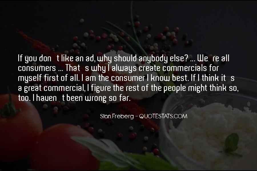 Best Commercials Quotes #1157291