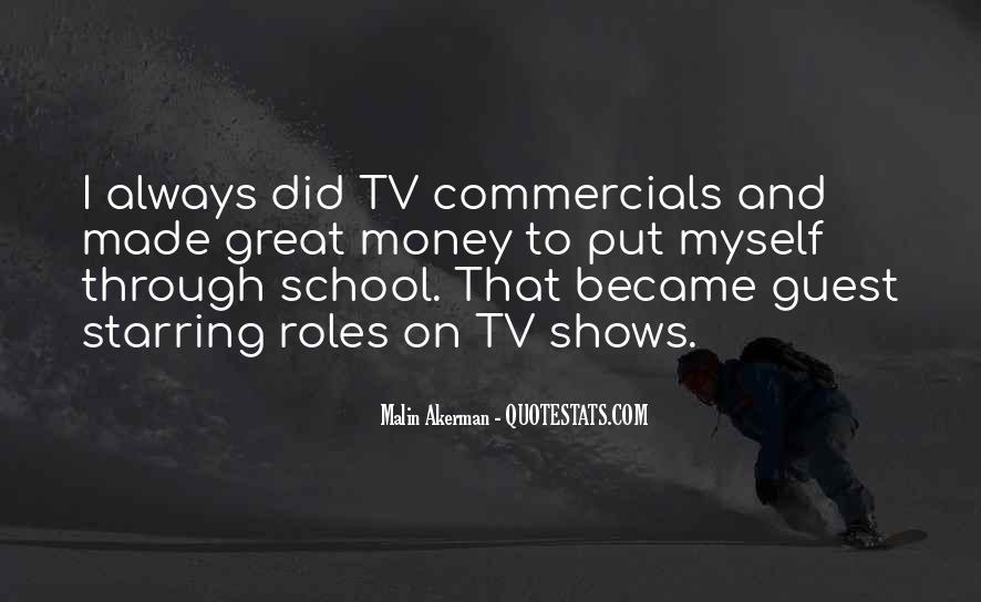 Best Commercials Quotes #127569