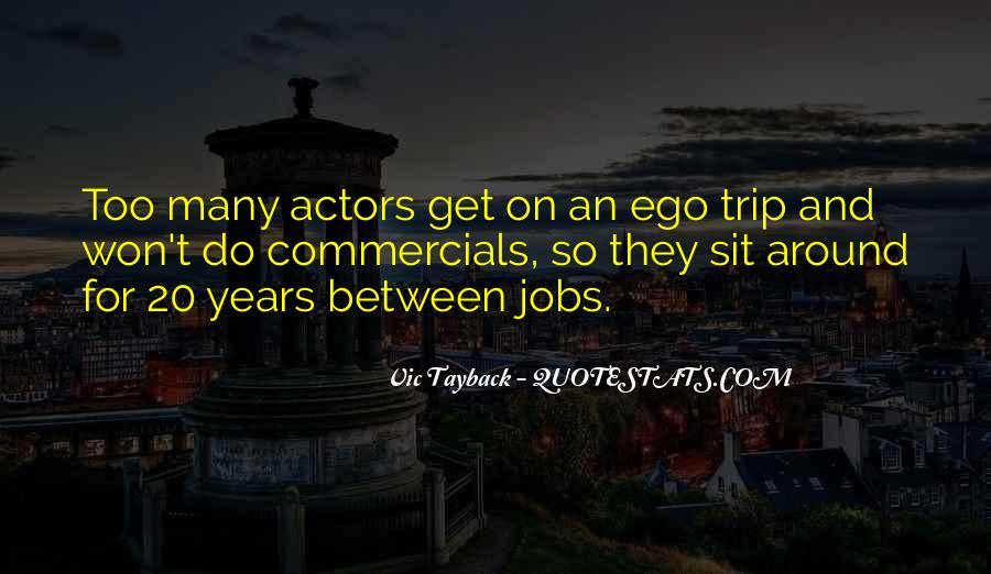 Best Commercials Quotes #16016