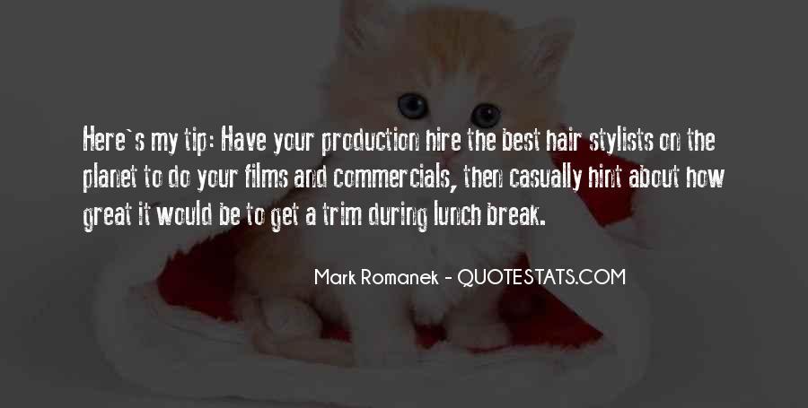 Best Commercials Quotes #35125