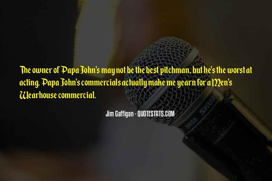 Best Commercials Quotes #474124