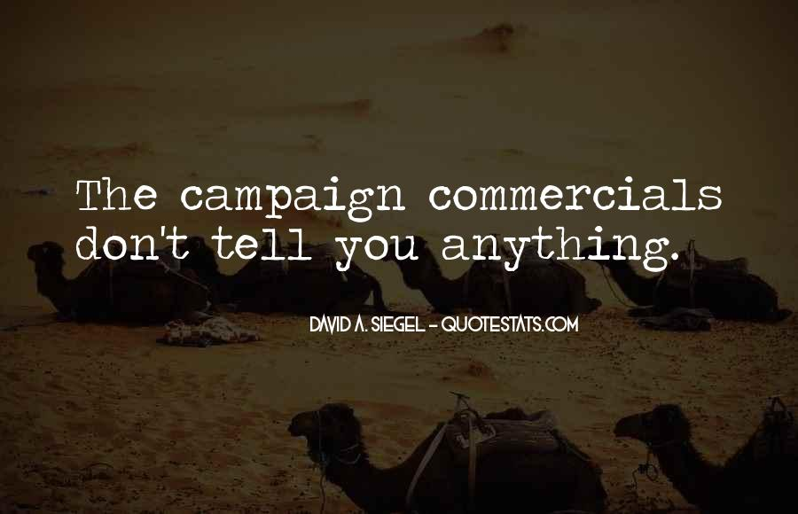 Best Commercials Quotes #67981