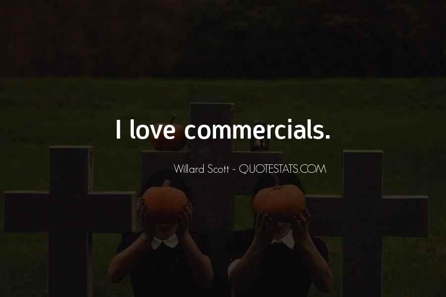 Best Commercials Quotes #75157