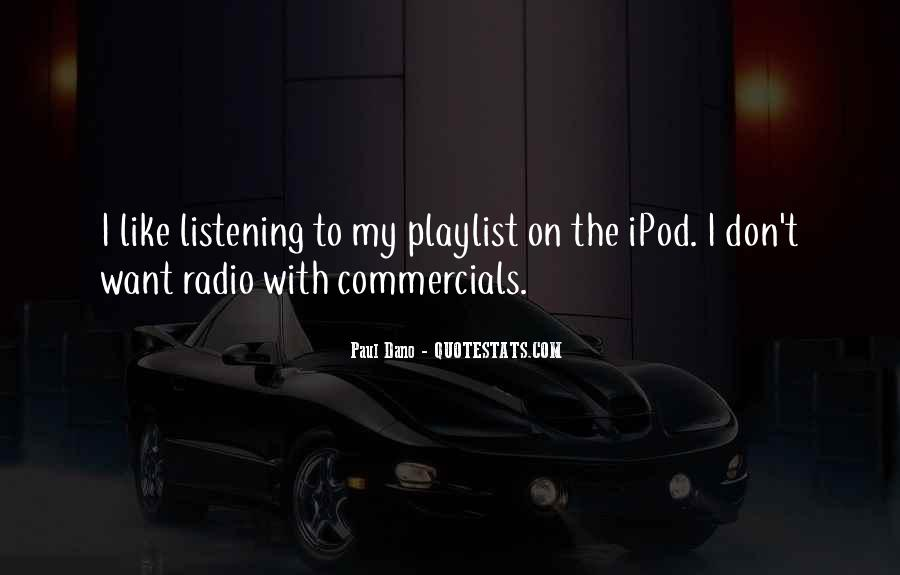 Best Commercials Quotes #83573