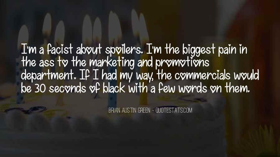 Best Commercials Quotes #95487