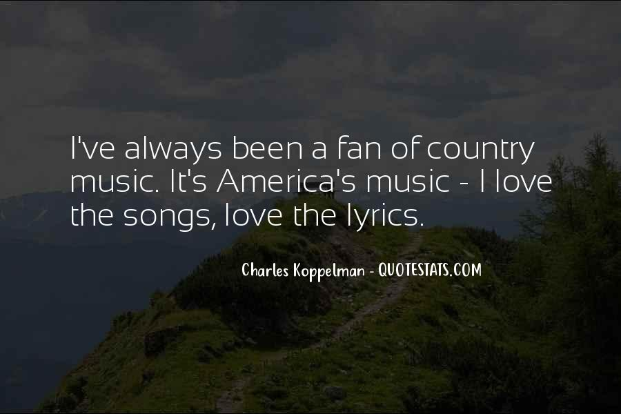 Top 24 Best Country Lyrics For Quotes: Famous Quotes ...