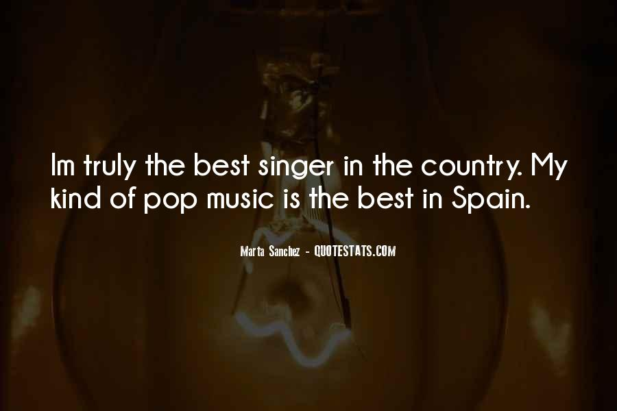 Best Country Singer Quotes #1349874