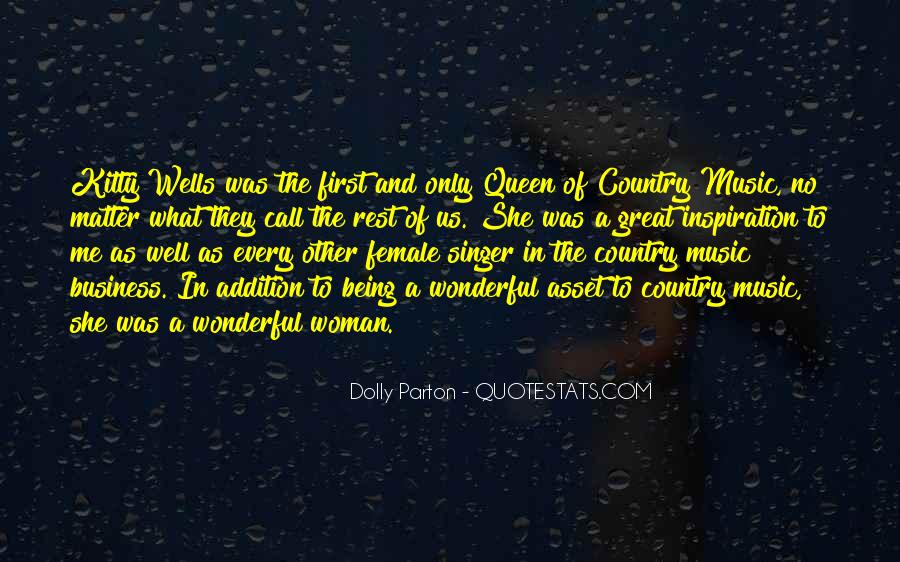 Best Country Singer Quotes #144523