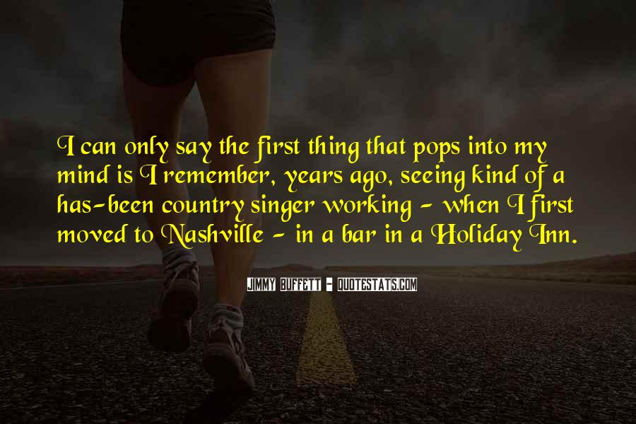 Best Country Singer Quotes #381507