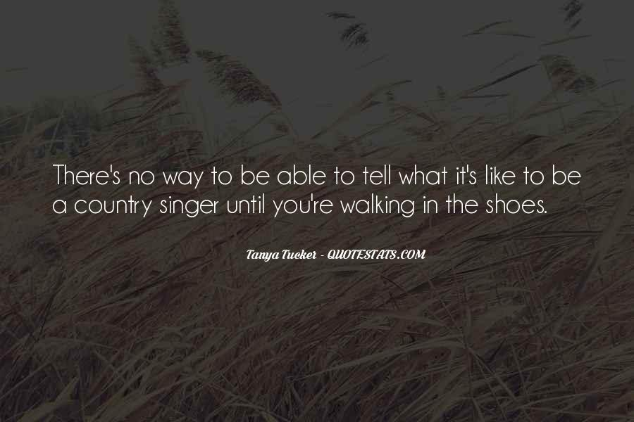 Best Country Singer Quotes #399362