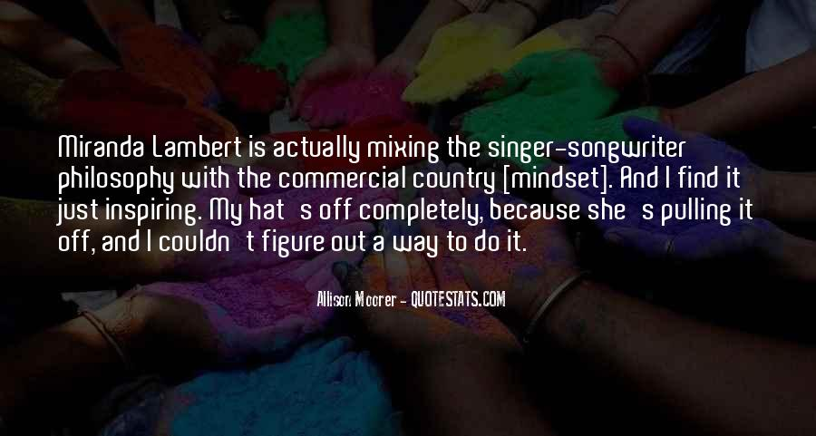 Best Country Singer Quotes #588206