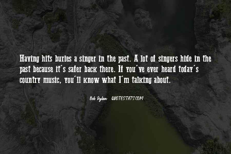 Best Country Singer Quotes #69014