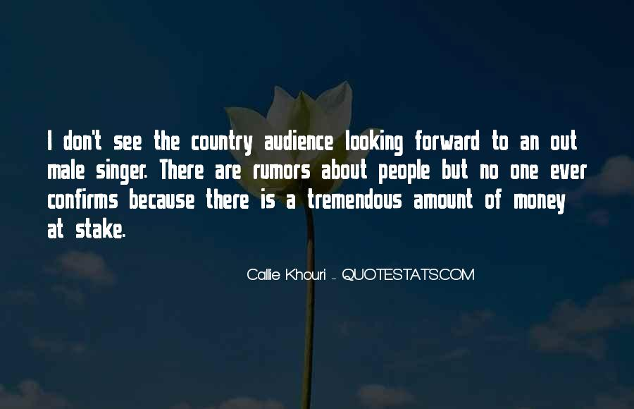 Best Country Singer Quotes #842660