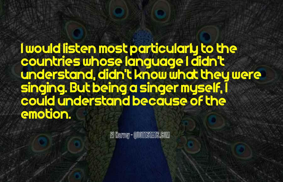 Best Country Singer Quotes #891801