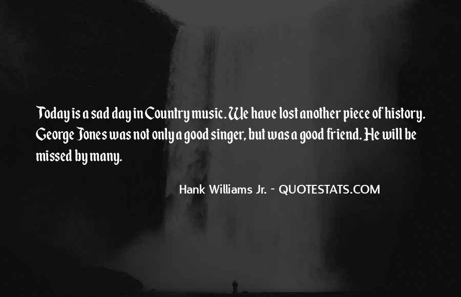 Best Country Singer Quotes #949450