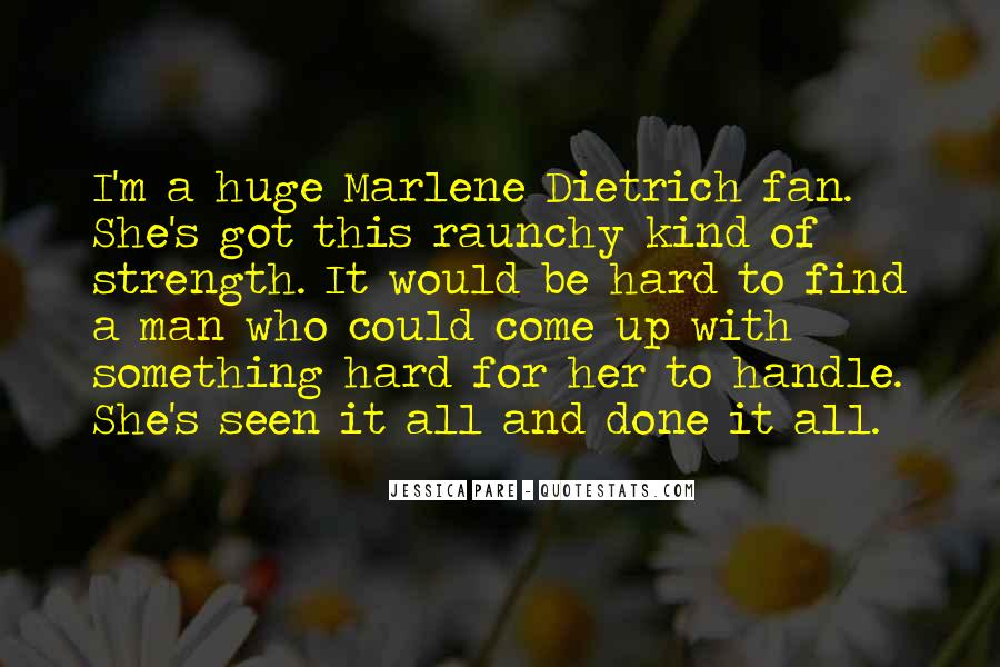 Quotes About Marlene #465531