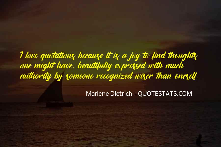 Quotes About Marlene #703541