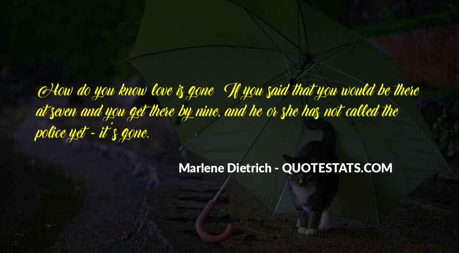 Quotes About Marlene #807899