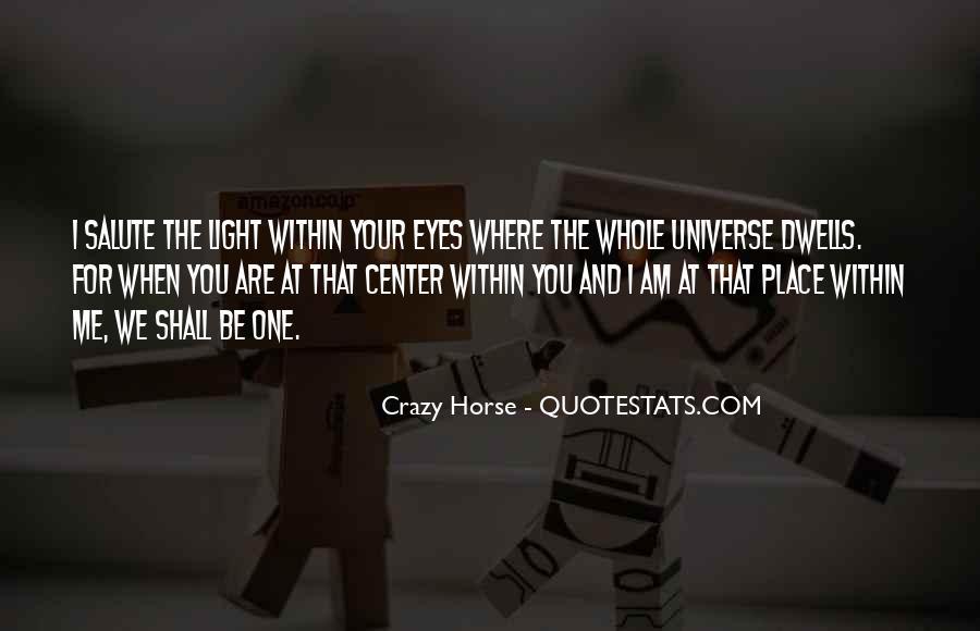 Best Crazy Eye Quotes #1171963