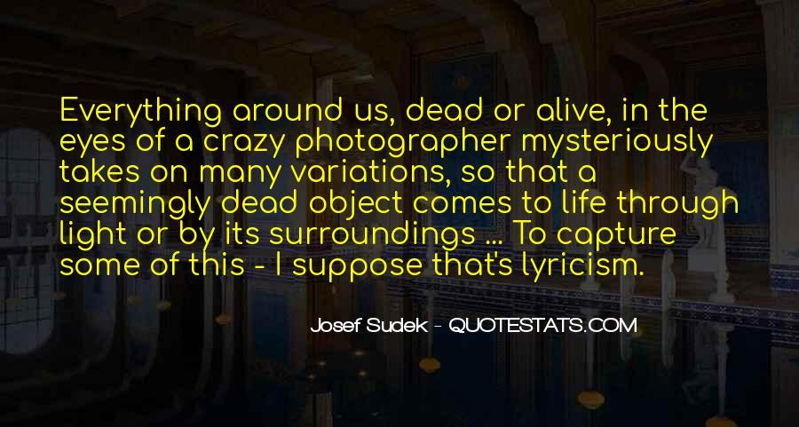 Best Crazy Eye Quotes #1428150