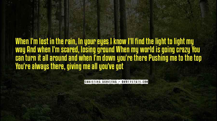 Best Crazy Eye Quotes #1575214