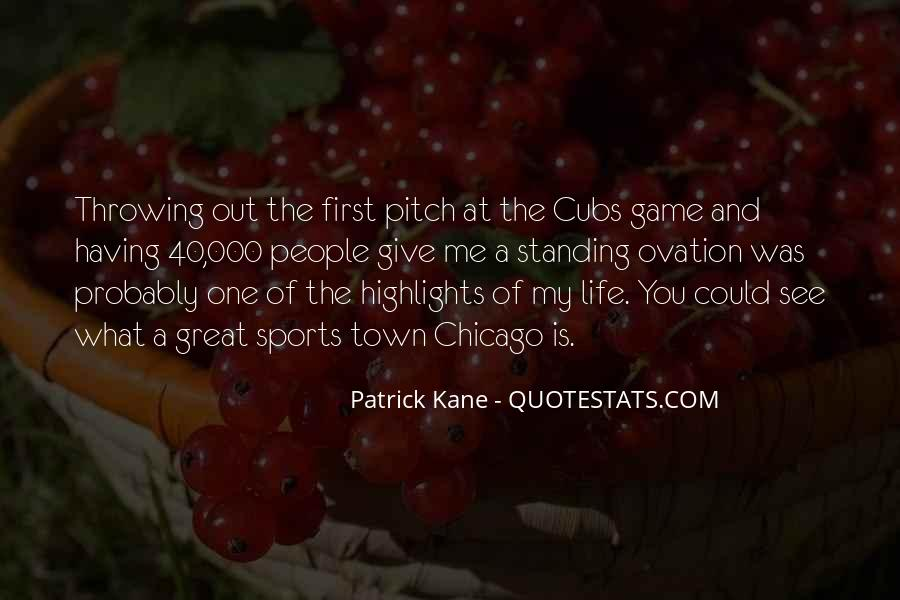 Best Cubs Quotes #83707