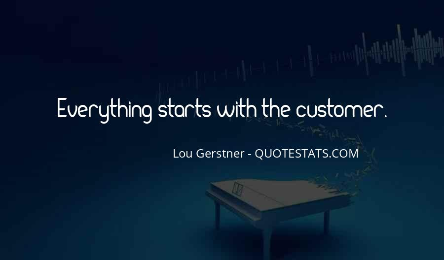 Best Customer Service Experience Quotes #1291451