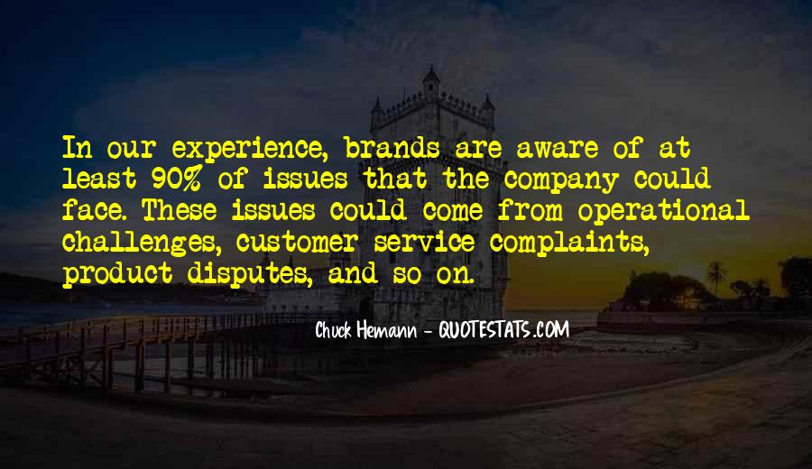 Best Customer Service Experience Quotes #150340