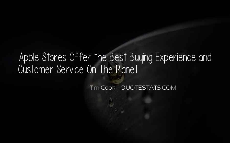 Best Customer Service Experience Quotes #1690745