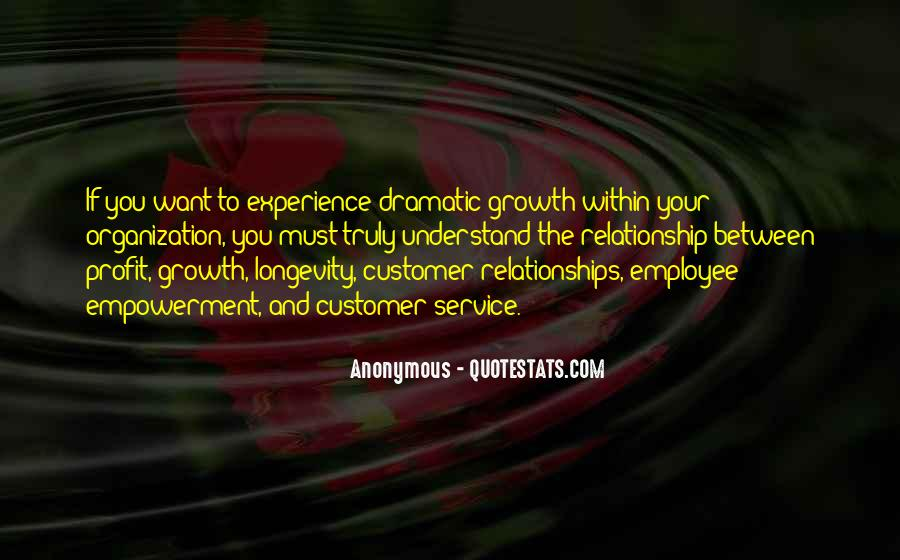 Best Customer Service Experience Quotes #1738766