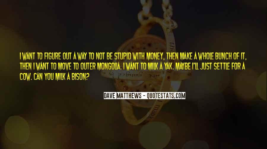 Best Dave Matthews Quotes #60426