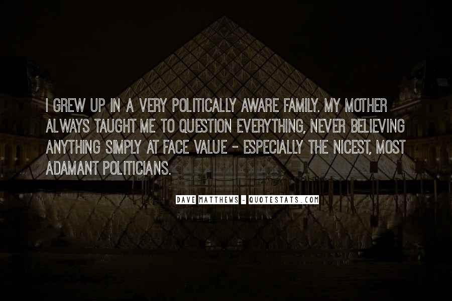 Best Dave Matthews Quotes #73683