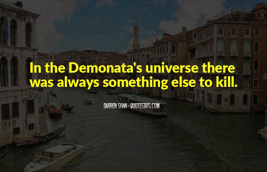 Best Demonata Quotes #1729007