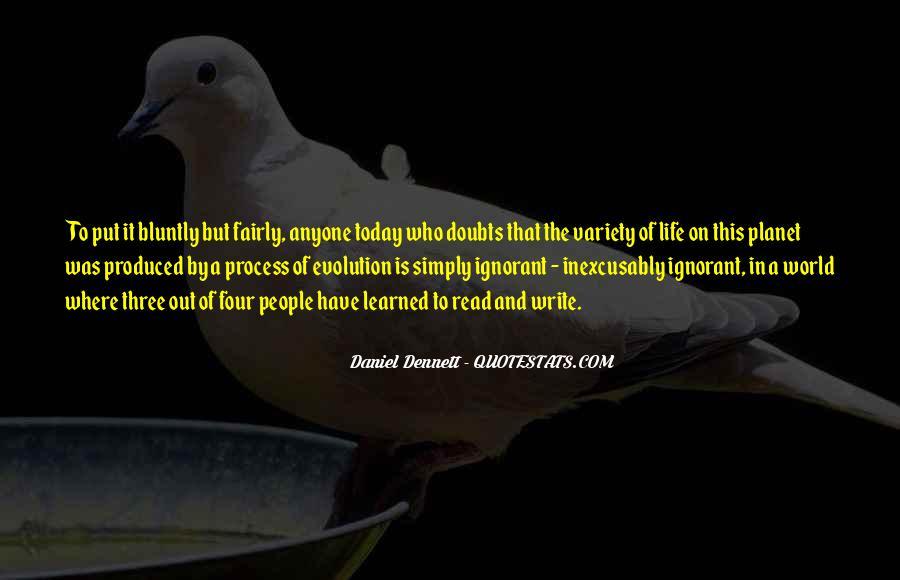 Best Dennett Quotes #97297