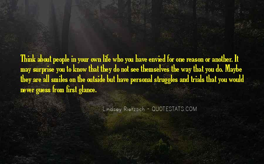 Quotes About The Trials Of Life #1301948