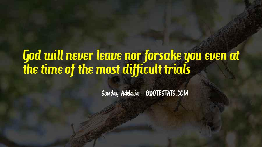Quotes About The Trials Of Life #190008