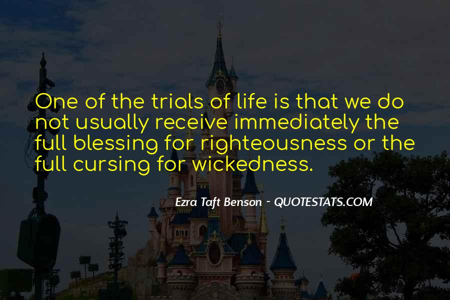 Quotes About The Trials Of Life #236422