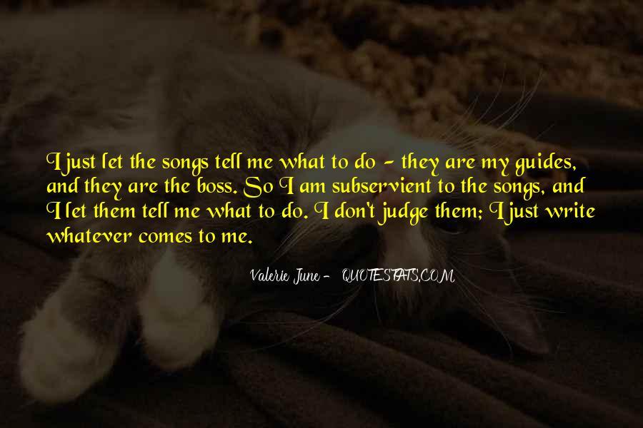 Best Don't Judge Me Quotes #29122