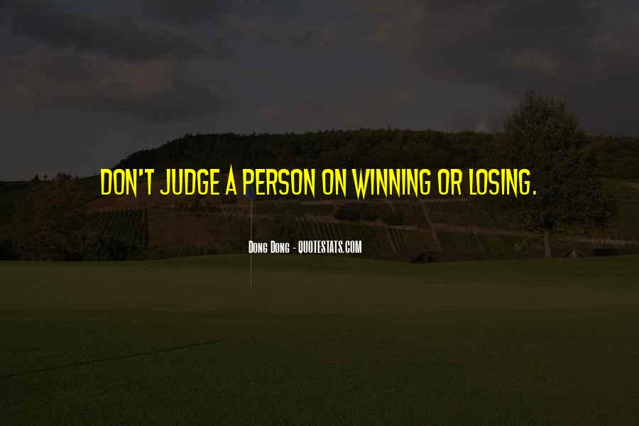 Best Don't Judge Me Quotes #48922