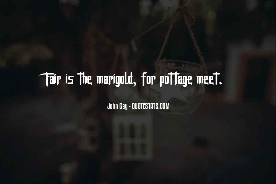 Quotes About Marigold #653993