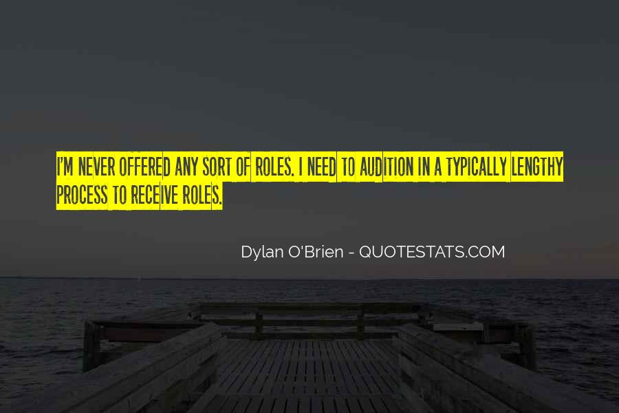 Best Dylan O'brien Quotes #1300934