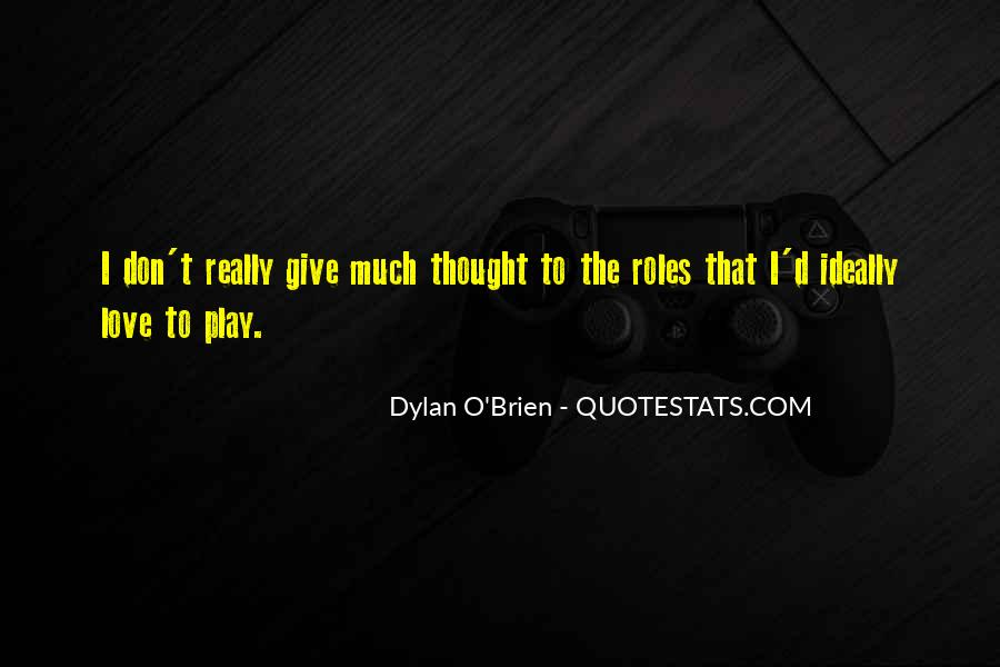 Best Dylan O'brien Quotes #81646