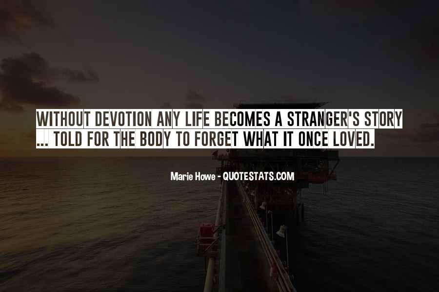 Quotes About Marie The Stranger #1278858
