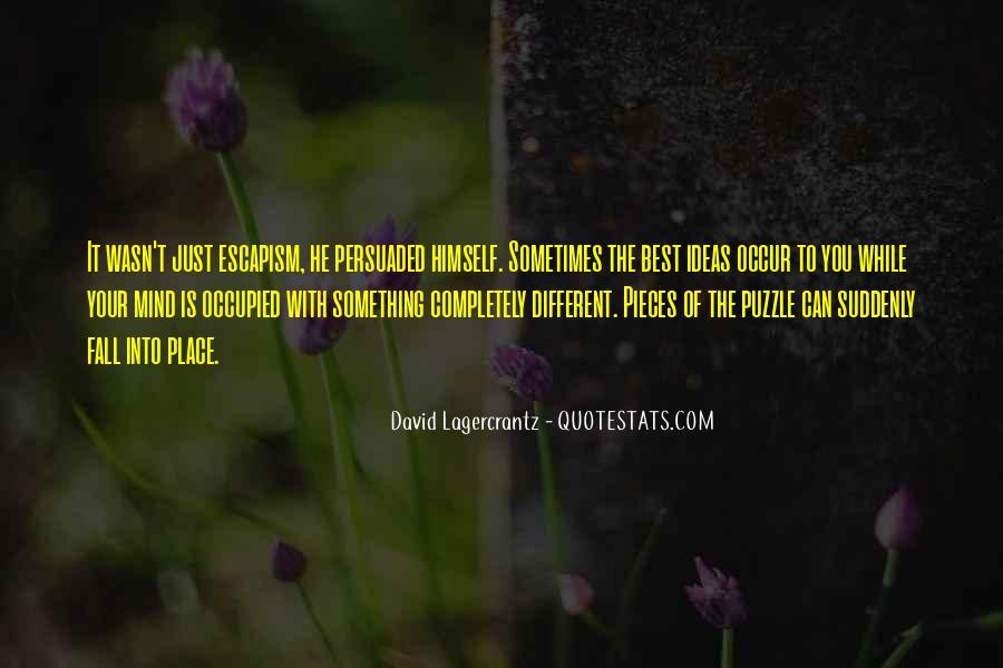 Best Escapism Quotes #1018931