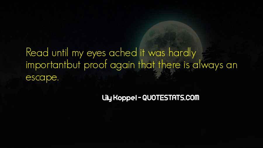 Best Escapism Quotes #153049