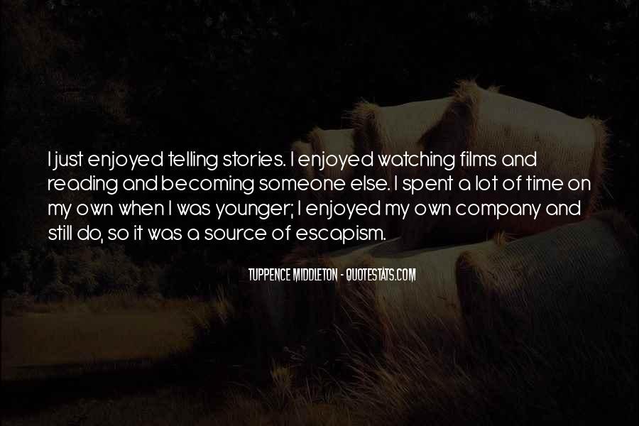 Best Escapism Quotes #224146