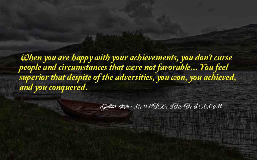 Best Favorable Quotes #228418