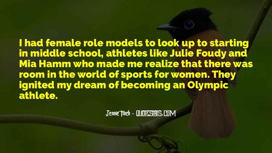 Best Female Athlete Quotes #1864019