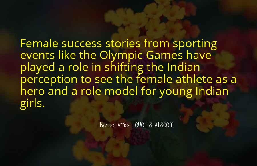 Best Female Athlete Quotes #541045